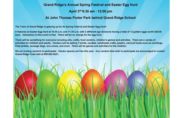 Grand Ridge Easter Egg Hunt